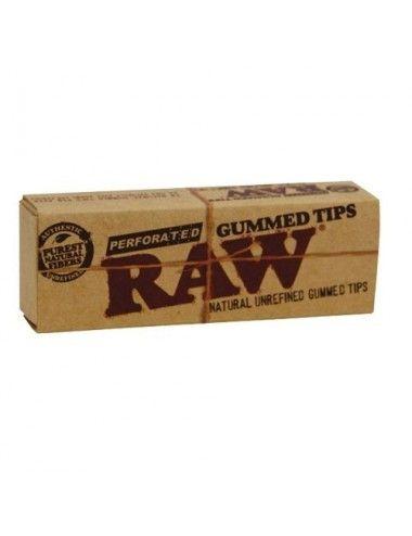 Gummed Tips Raw