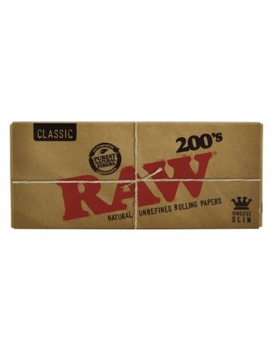 RAW Classic King Size Slim 200's