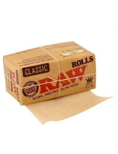 Raw Classic Rolls 5 m King Size Slim