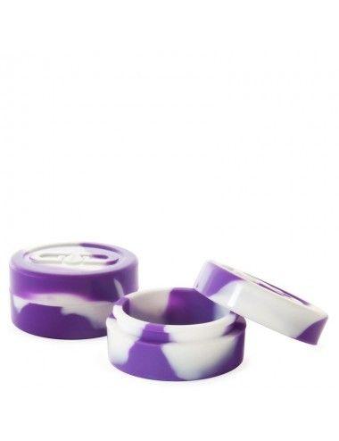 GG Dabs Silicone Jar White Purple