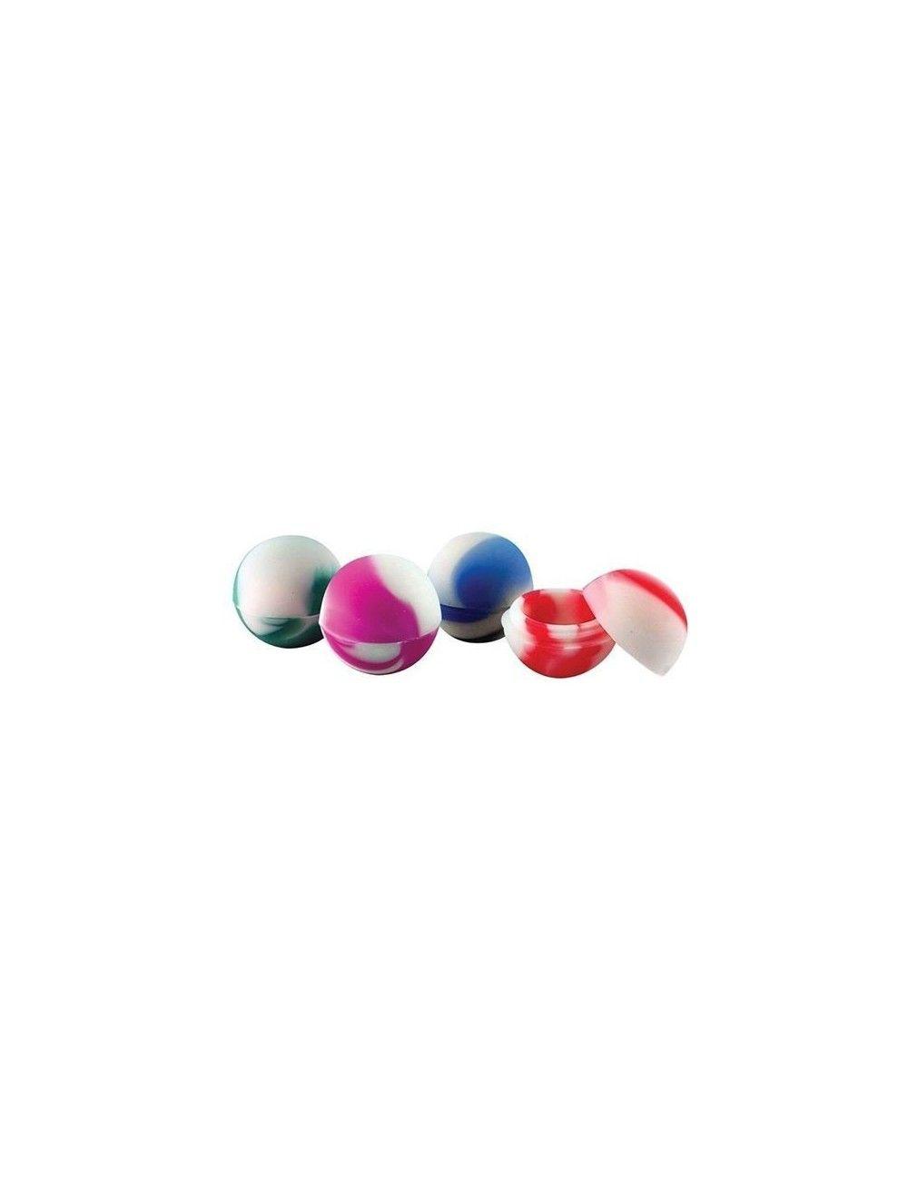 Silicone Ball Mini Jar