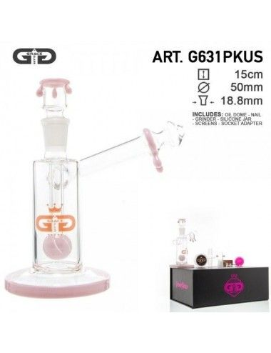 GG Sidecar Bubbler Pink