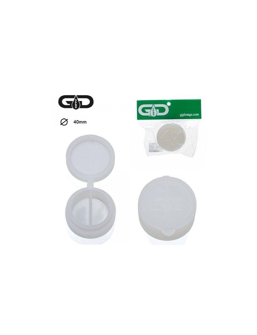 GG Dabs Silicone Small Jar White
