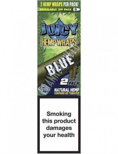 Juicy Hemp Wraps Blue - Black´n´Blueberry
