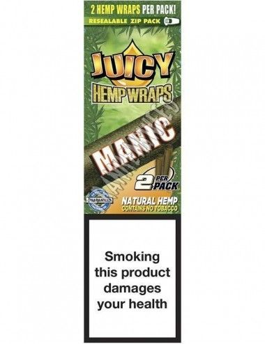 Juicy Hemp Wraps Mango - Mango Papaya Twist