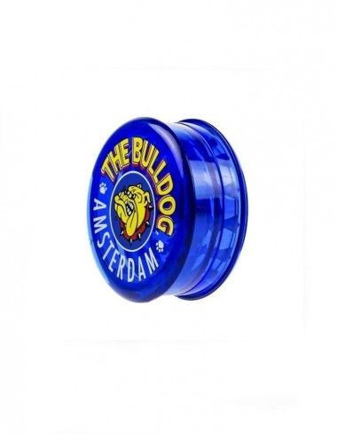 The Bulldog Blue Plastic Grinder