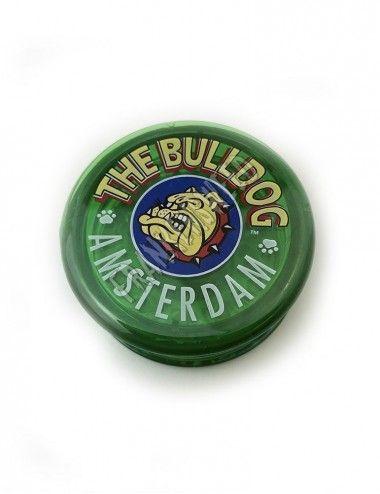 The Bulldog Green Plastic Grinder