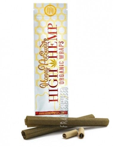 High Hemp Wraps - Honey Pot Swirl