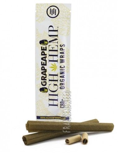 High Hemp Wraps - Grape Ape