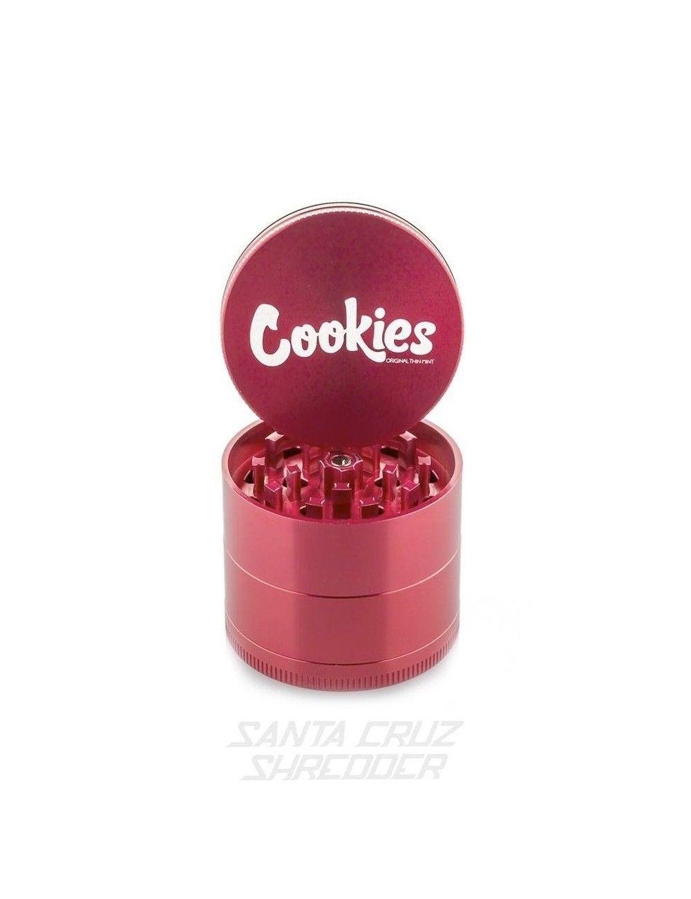 Santa Cruz Shredder 4-piece Medium - Cookies Red