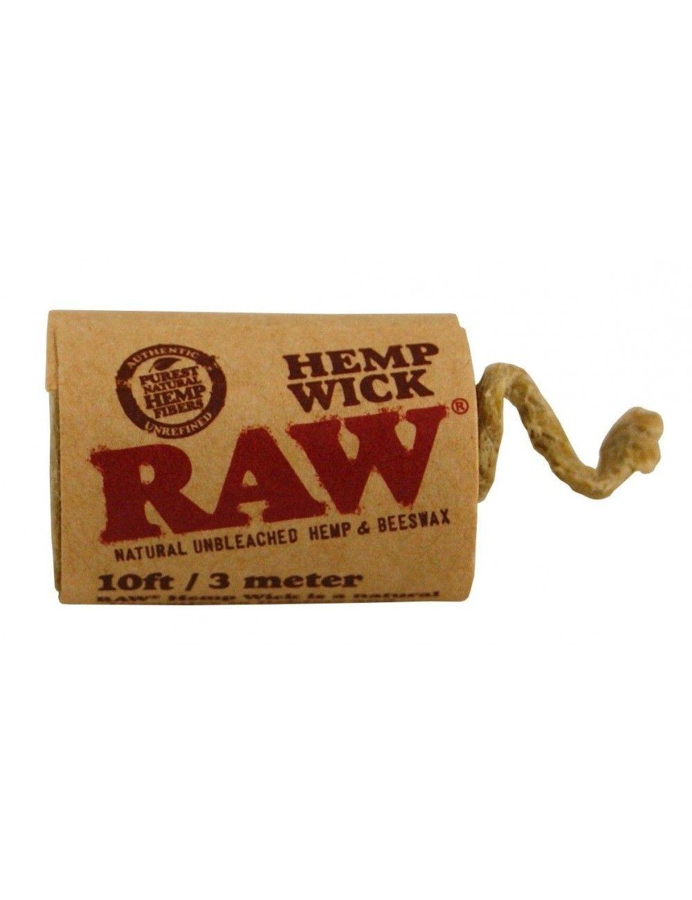 Raw Hemp Wick 3 metros