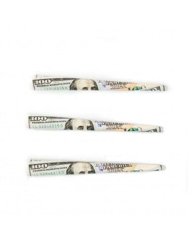 Empire $100 Bill Cones Prerolled