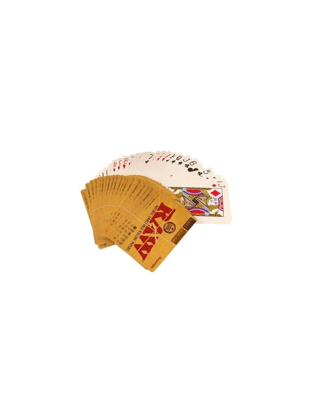 RAW Poker Cards