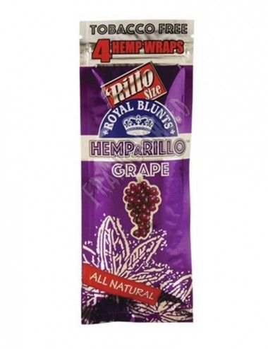 Hemparillo Wraps Rolls Grape
