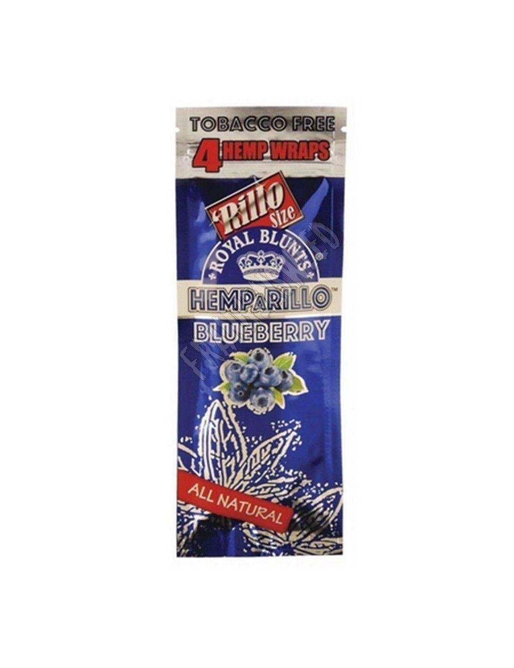 Hemparillo Wraps Rolls Blueberry
