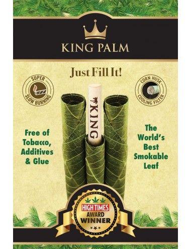 King Palm Cones Leaf - 3 Slim Rolls