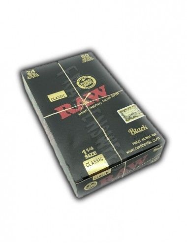 Raw Black 1¼ Size Europe Edition