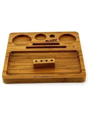 Raw Bamboo Tray