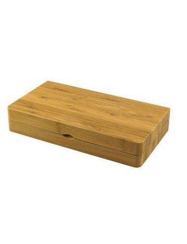 Raw Bamboo Tray Backflip
