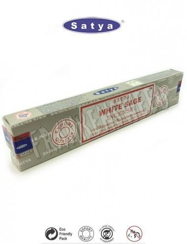 White Sage Satya Sai Baba Incense Sticks