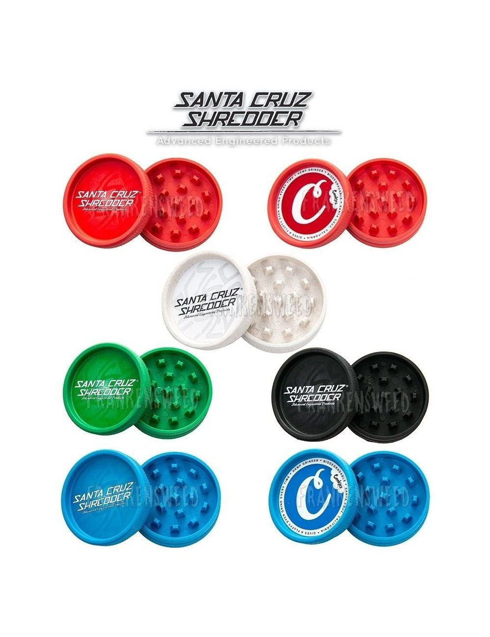 Comprar los nuevos Santa Cruz Hemp Shredder de Colores