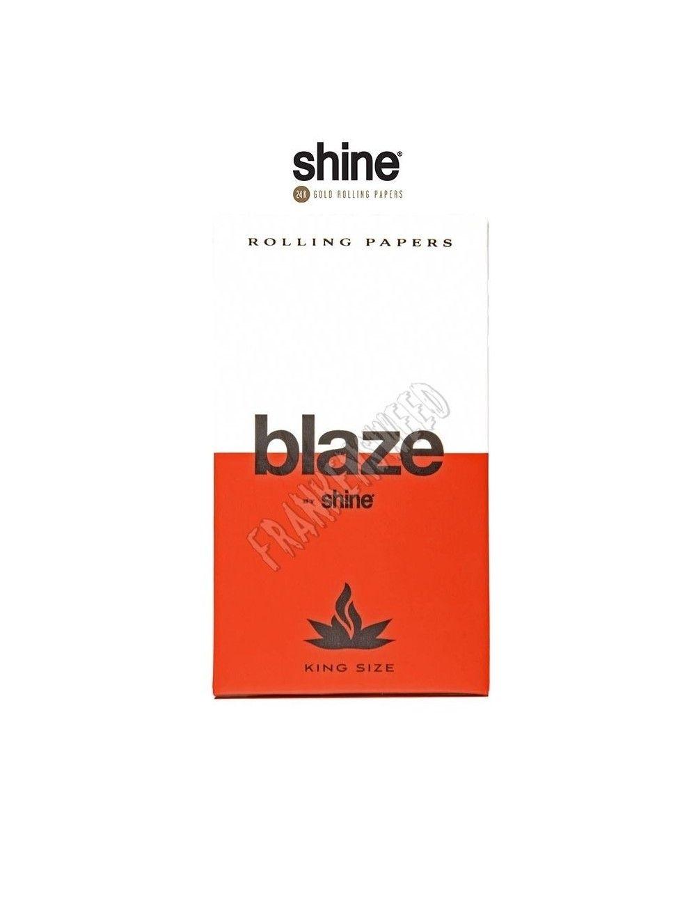 Comprar en España Blaze Hemp Rolling Papers by Shine, en Frankensweed Shop