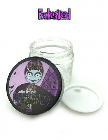 Swaggy Glass Jar - Bride Sally