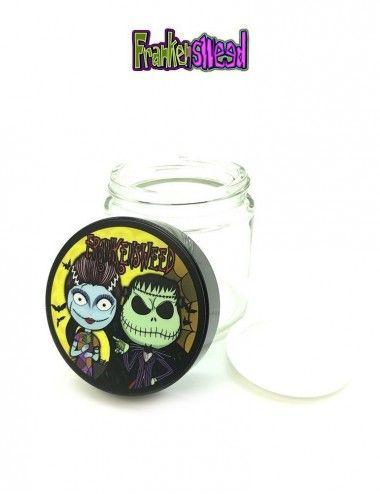 Glass Jar 4oz - Nightmare Weed