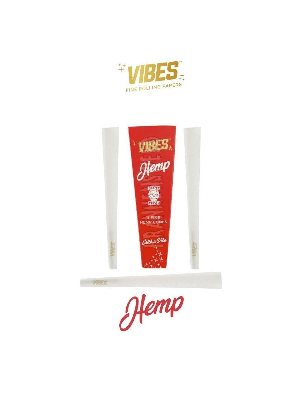 Comprar Vibes Cones Hemp en España, sólo en Frankensweed Shop Online.