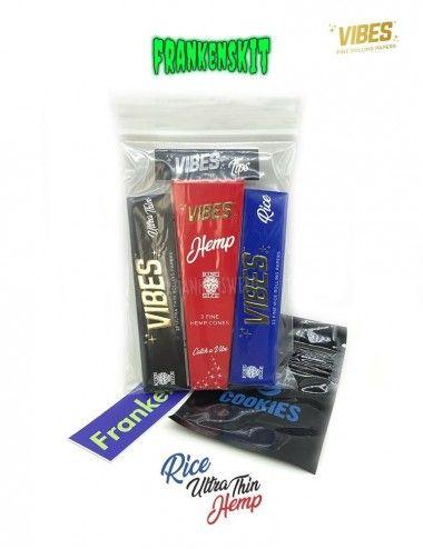 Comprar Pack de fumador de la marca Vibes Rolling Papers en España.