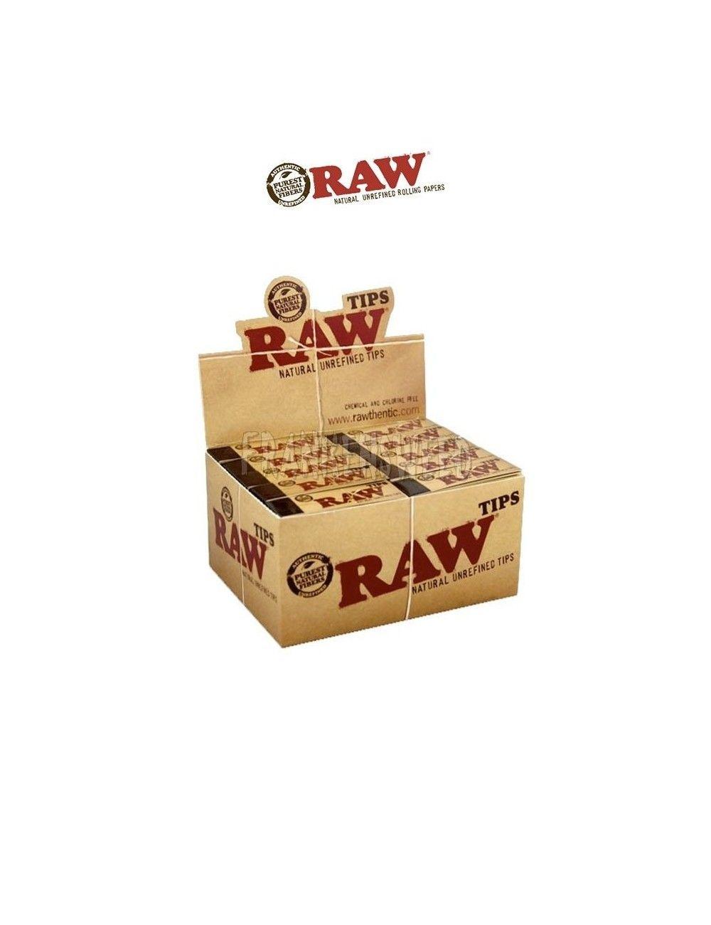 Comprar caja de RAW TIPS CLASSICS Original en Frankensweed Shop Online en España.