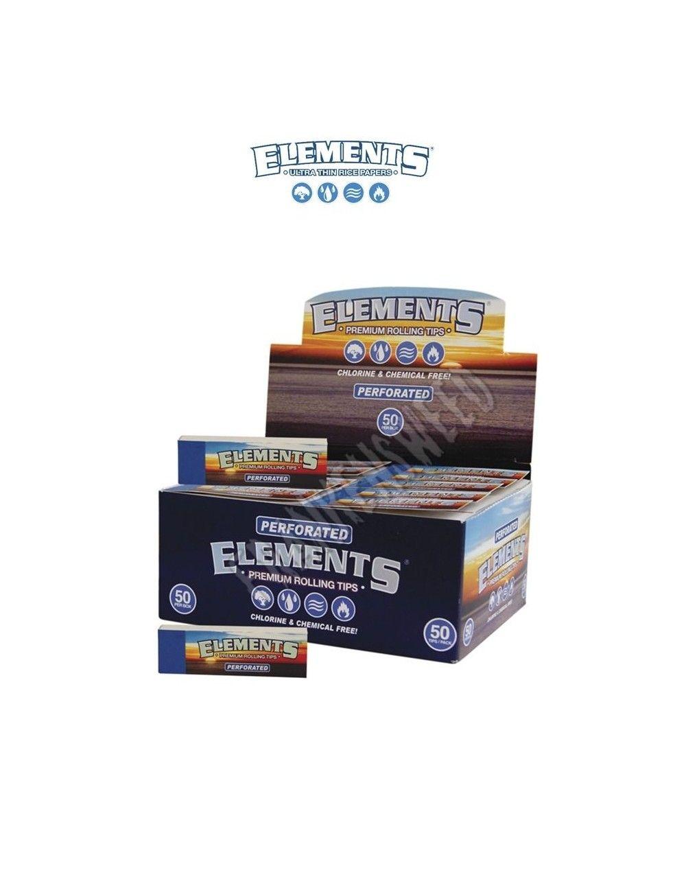 Comprar caja de boquillas elements tips perforated en España en Frankensweed Shop Online.