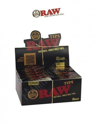 Comprar RAW BLACK TIPS modelo Clásico en Frankensweed Shop Online en España.