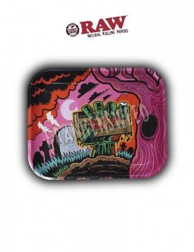Comprar Bandeja RAW Zombie Rolling Tray en Frankensweed Shop Online