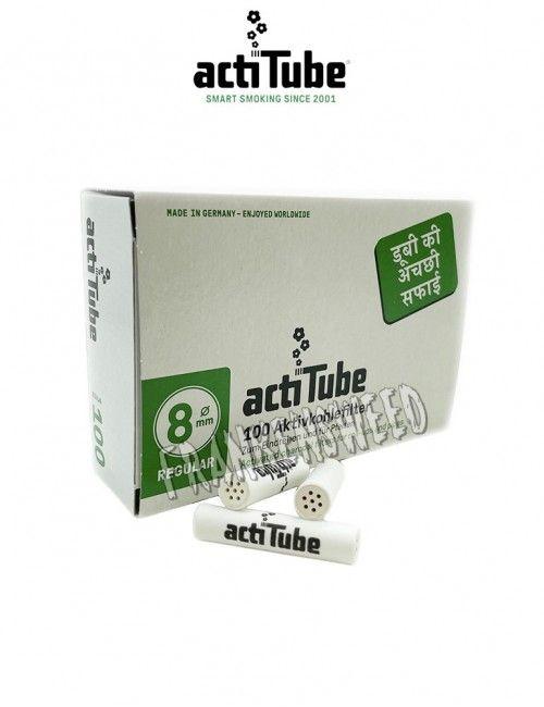 Actitube Fat Doble Cerámica, filtros de carbón activo, comprar online en Frankensweed.
