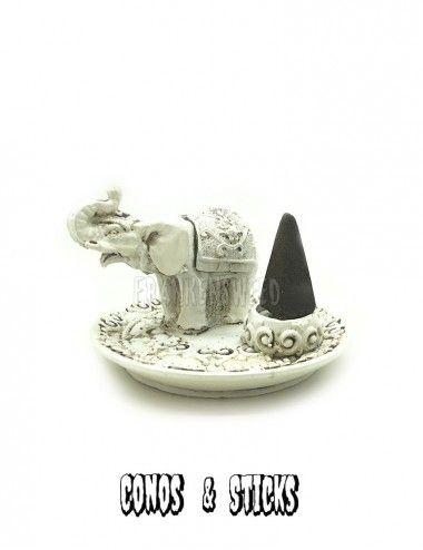 Incensario Elefante blanco...