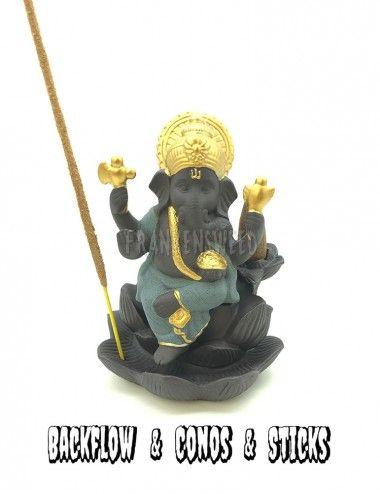 Incensario Ganesha - Conos...