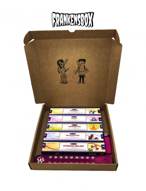 The Basic Yoga FrankincBox - Pack de Inciensos para hacer Yoga